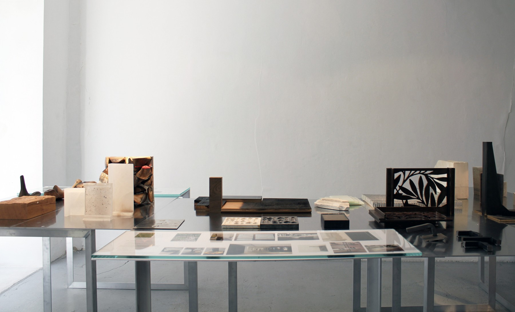 JFA- Working-in-Architecture- Paris-exhibition- material tests