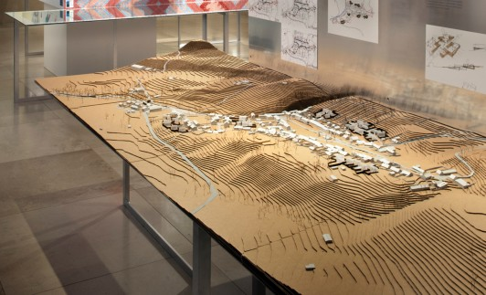 RIBA-at-home-exhibition-jamie-fobert-architects-handmade-architectural-model-cottage-village-affordable-housing 2
