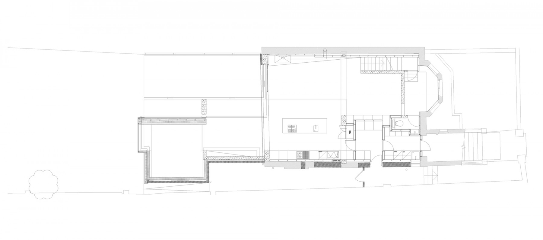 Kander-house-Primrose-hill-London-residential-home-contemporary-interior-Riba-award-victorian-Jamie-Fobert-Architects-plan