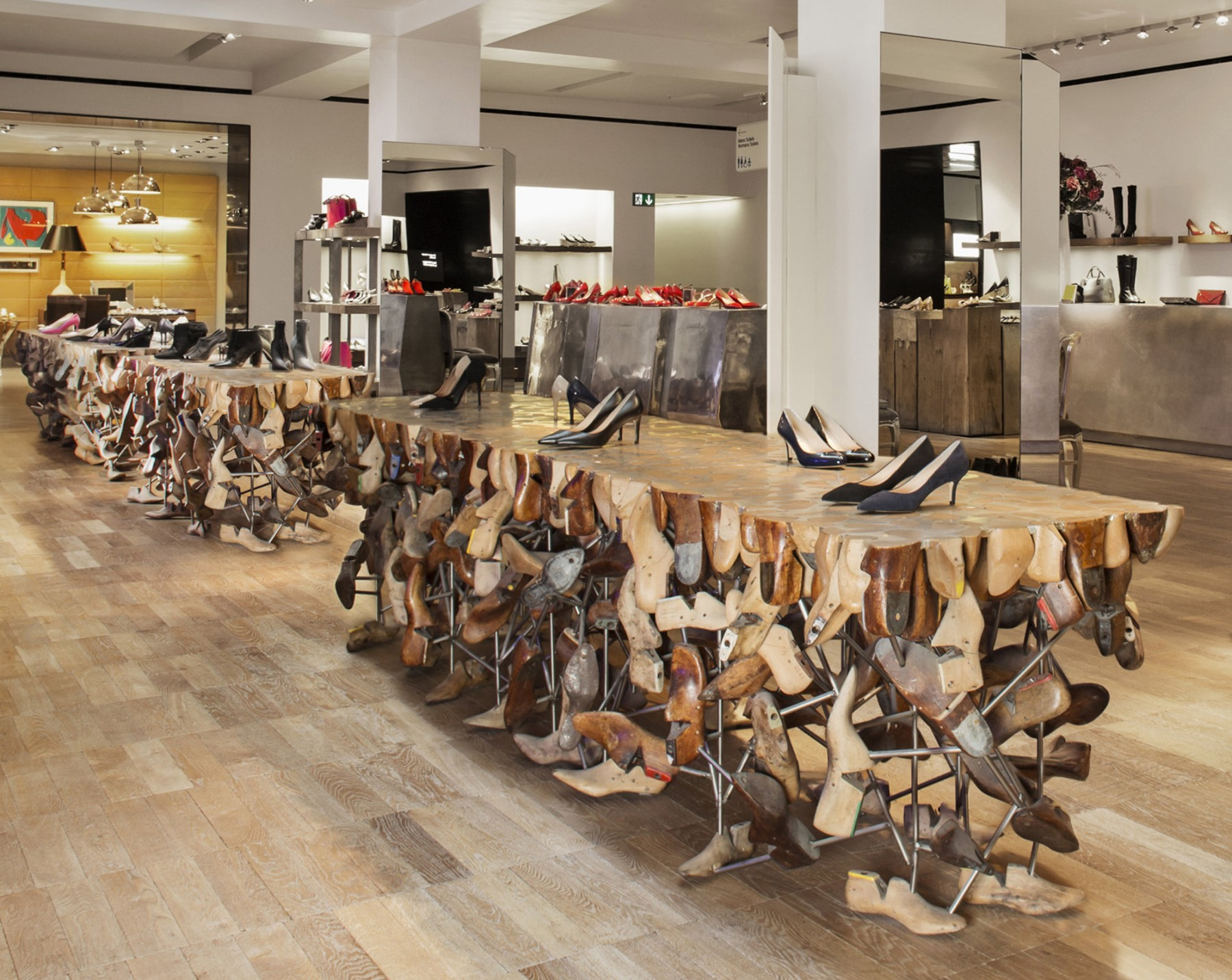 Selfridges Shoe department