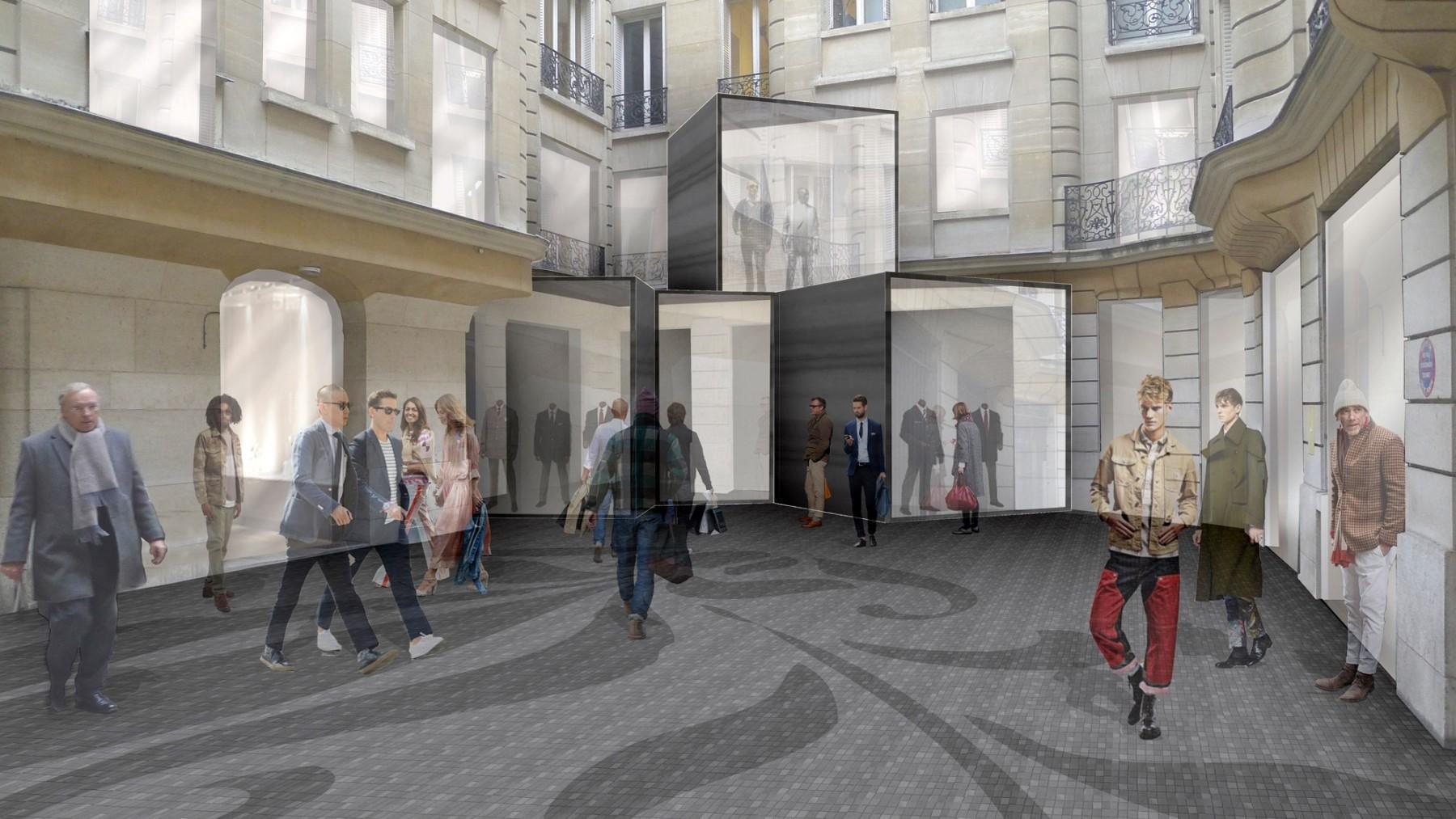 BHV-Galeries-Lafayette-Paris-retail-France-Hôtel-de-Ville-Department-store-shopping-Jamie-Fobert-Architects-development-2