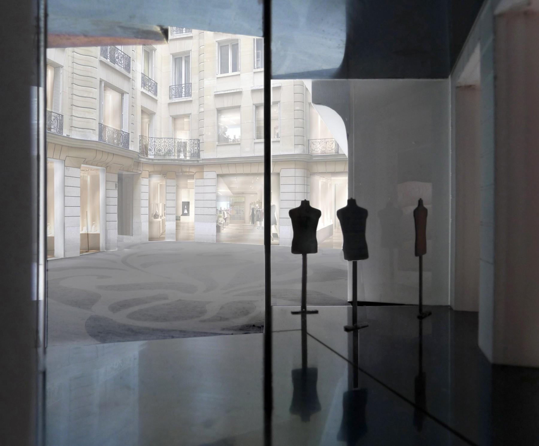 BHV-Galeries-Lafayette-Paris-retail-France-Hôtel-de-Ville-Department-store-shopping-Jamie-Fobert-Architects-model