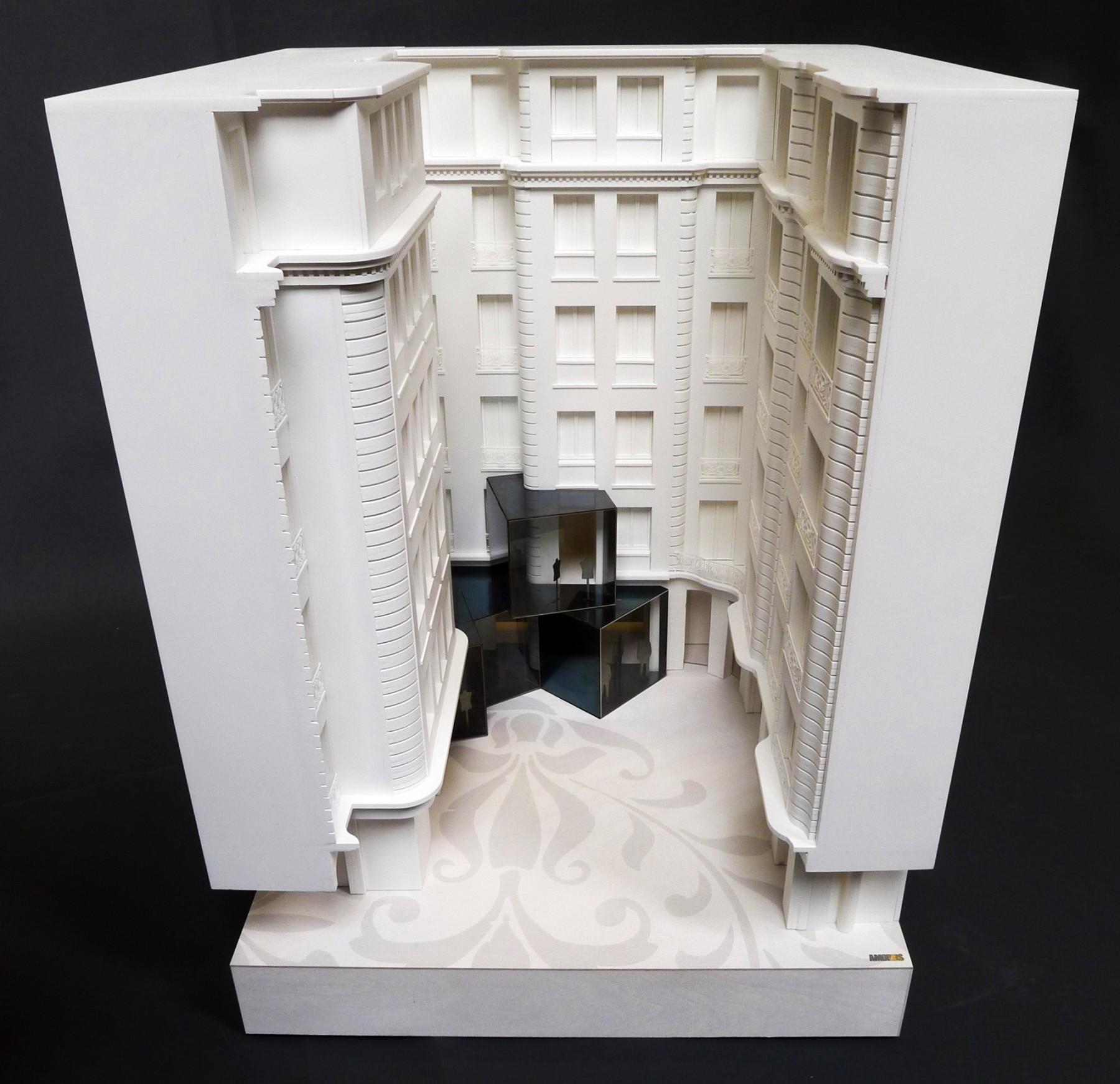 BHV-Galeries-Lafayette-Paris-retail-France-Hôtel-de-Ville-Department-store-shopping-Jamie-Fobert-Architects-model-2