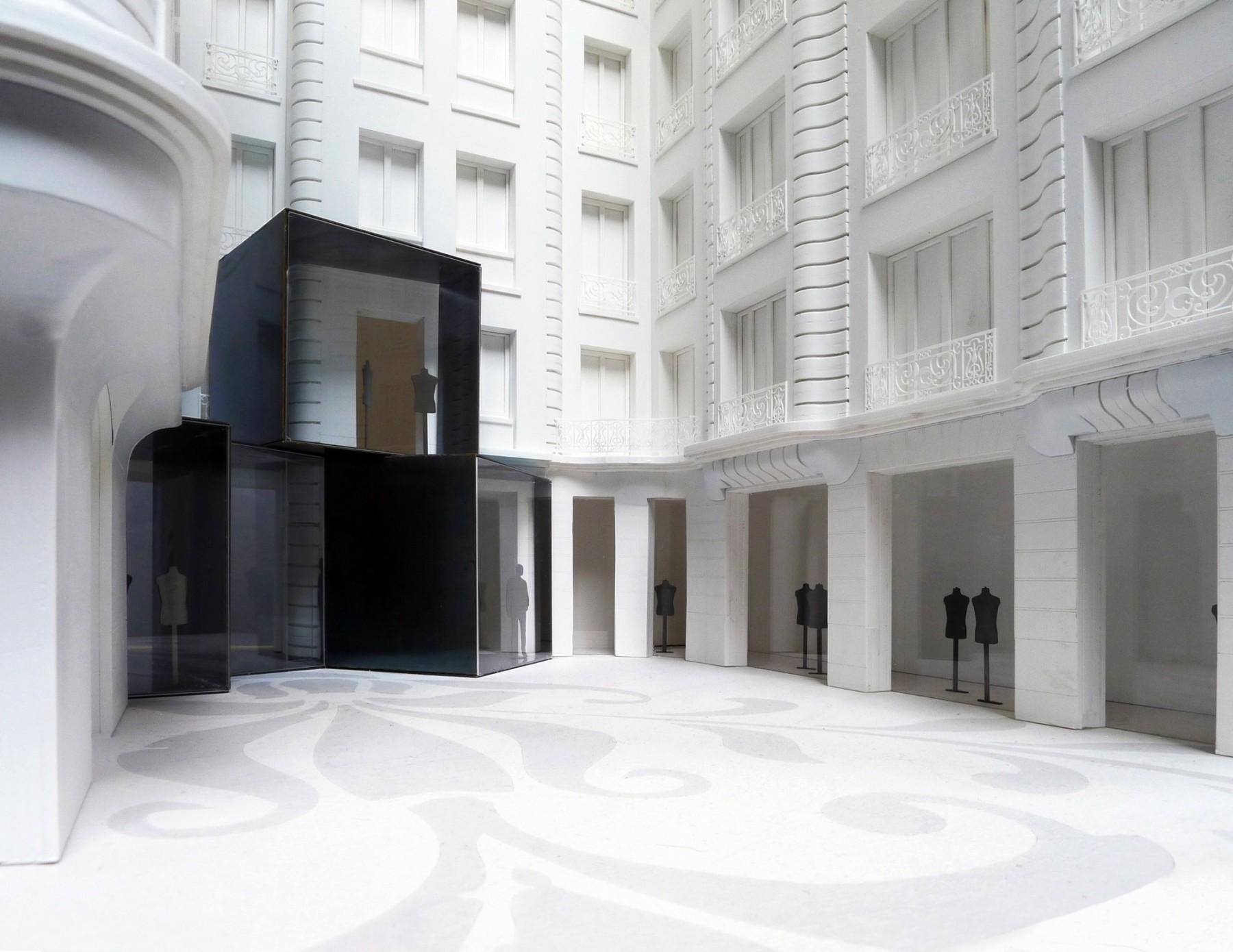 BHV-Galeries-Lafayette-Paris-retail-France-Hôtel-de-Ville-Department-store-shopping-Jamie-Fobert-Architects-model-3