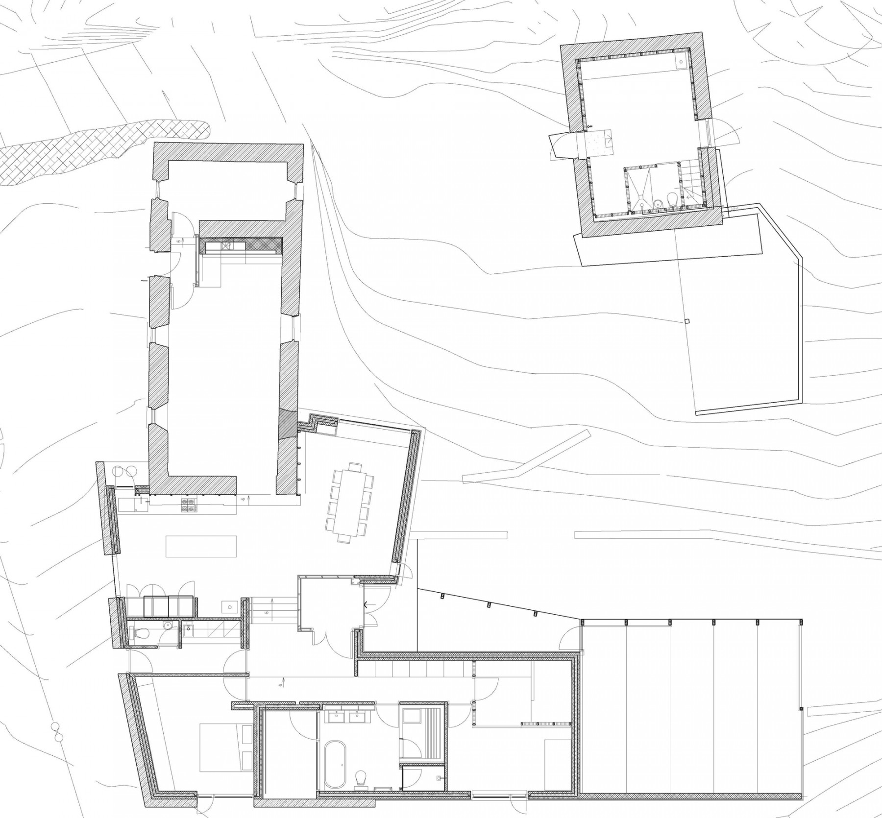 FaHa-Farm-house-barn-County-Clare-Ireland-residential-home-rural-timber-zinc-Jamie-Fobert-Architects-site-plan