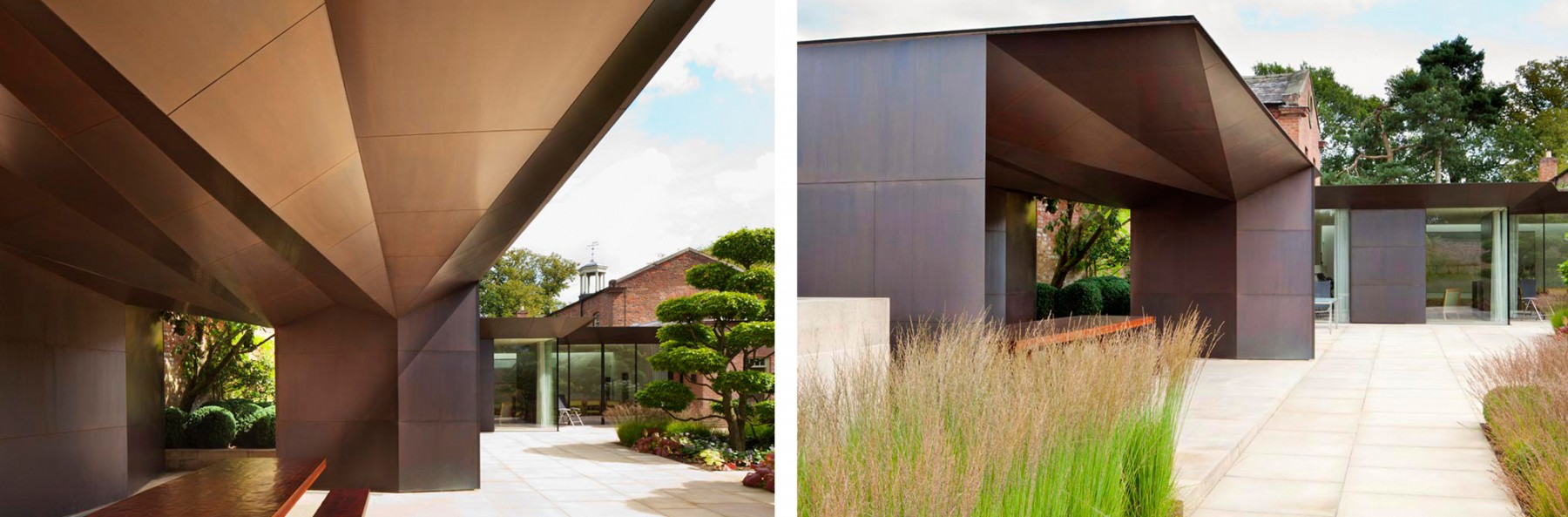 Garden-Grange-Pavilion-landscape-cheshire-cogshall-bronze-copper-room-gate-Tom-Stuart-smith-Jamie-Fobert-Architects-3