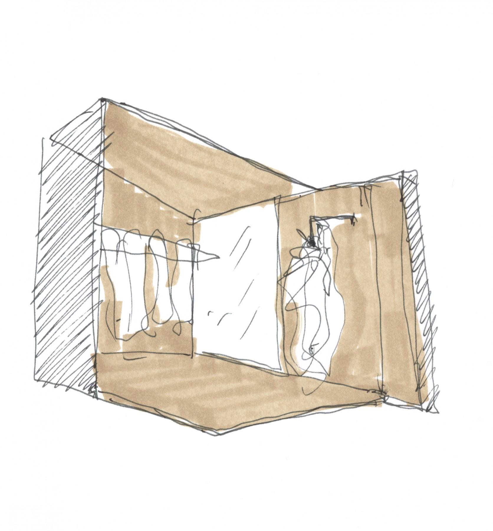Givenchy-Paris-boutique-designer-fashion-retail-Jamie-Fobert-Architects-sketch