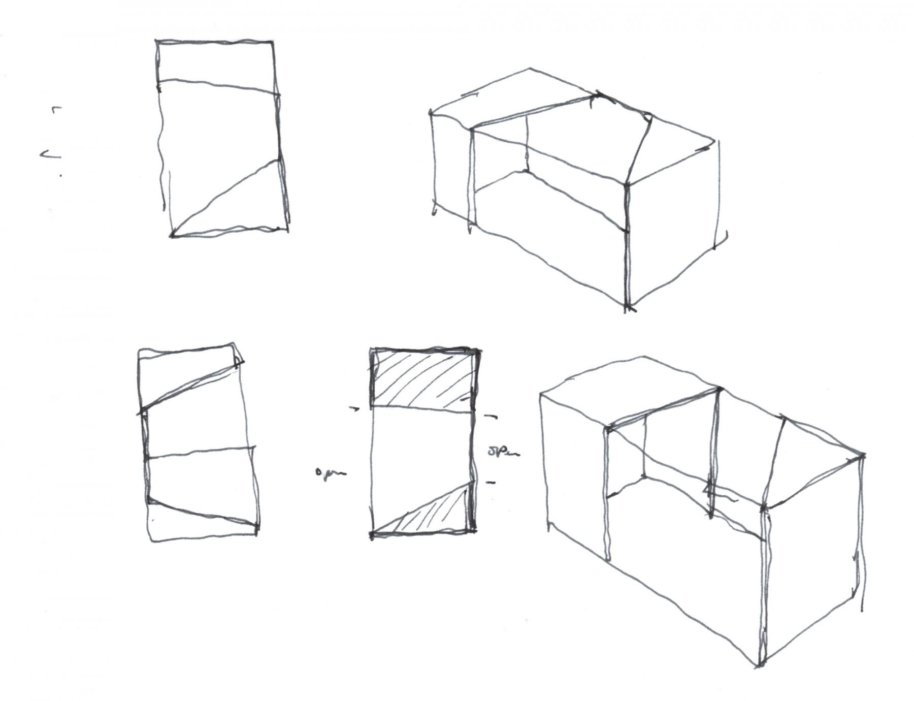 Givenchy-Paris-boutique-designer-fashion-retail-Jamie-Fobert-Architects-sketch-3