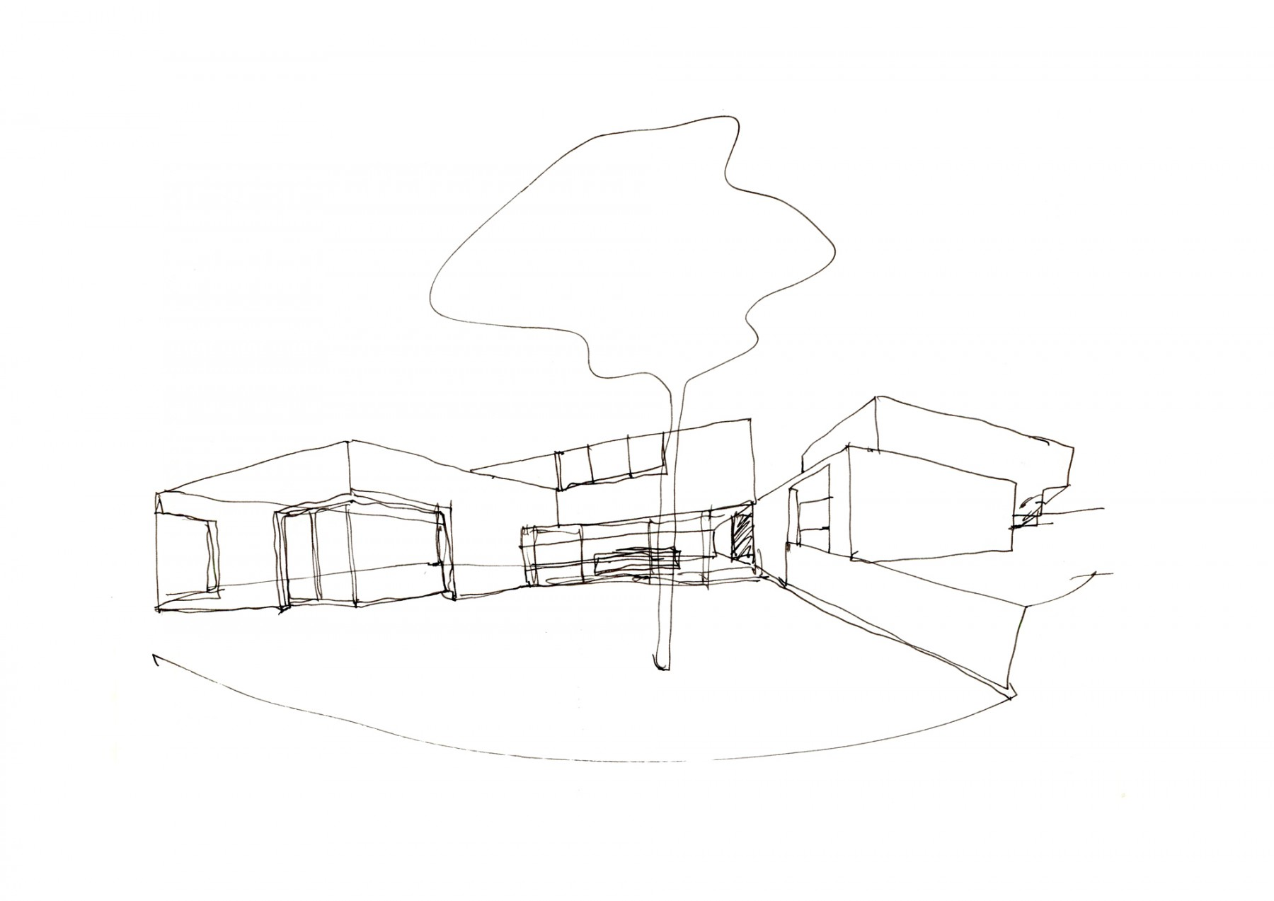 Luker-House-contemporary-modern-London-residential-home-Jamie-Fobert-Architects-sketch-3
