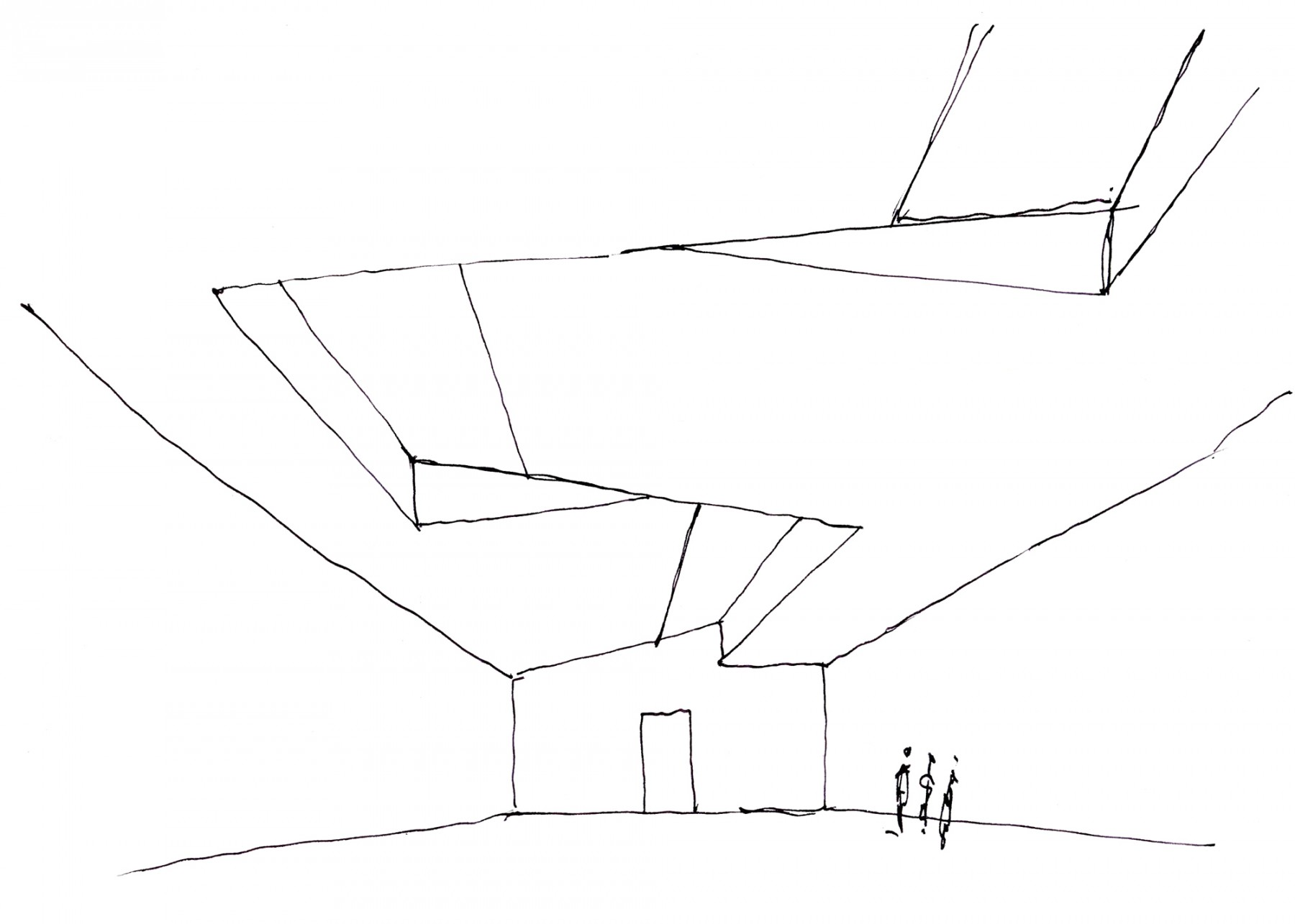 The-Garage-CCC-Moscow-Russia-Art-gallery-centre-contemporary-culture-modern-Daria-Zhukova-Jamie-Fobert-Architects-exhibition-sketch