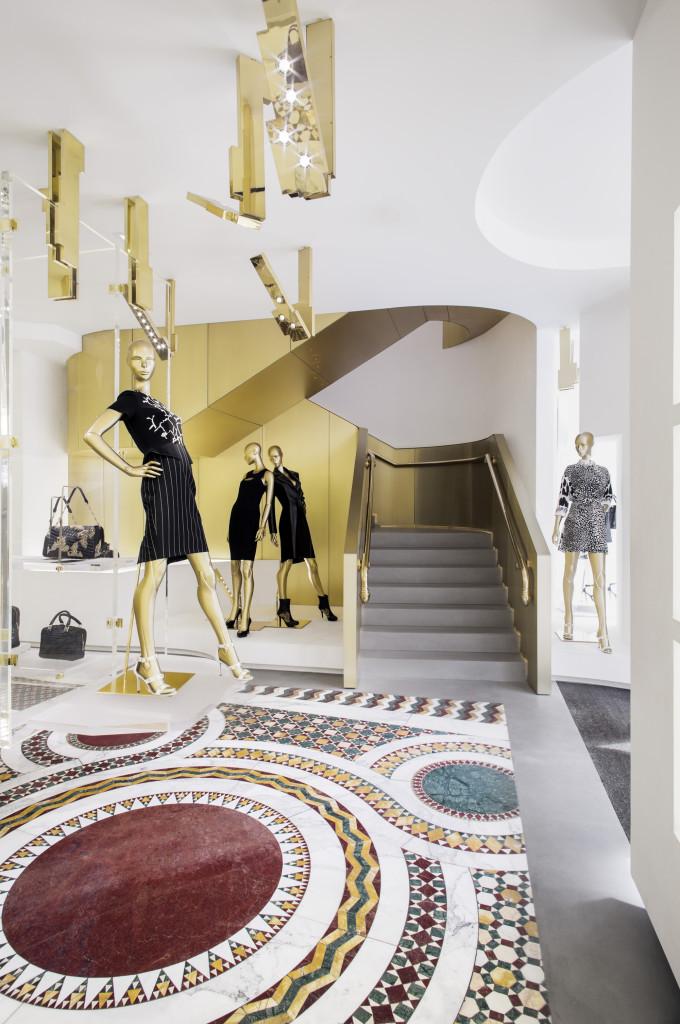 Versace Paris Store