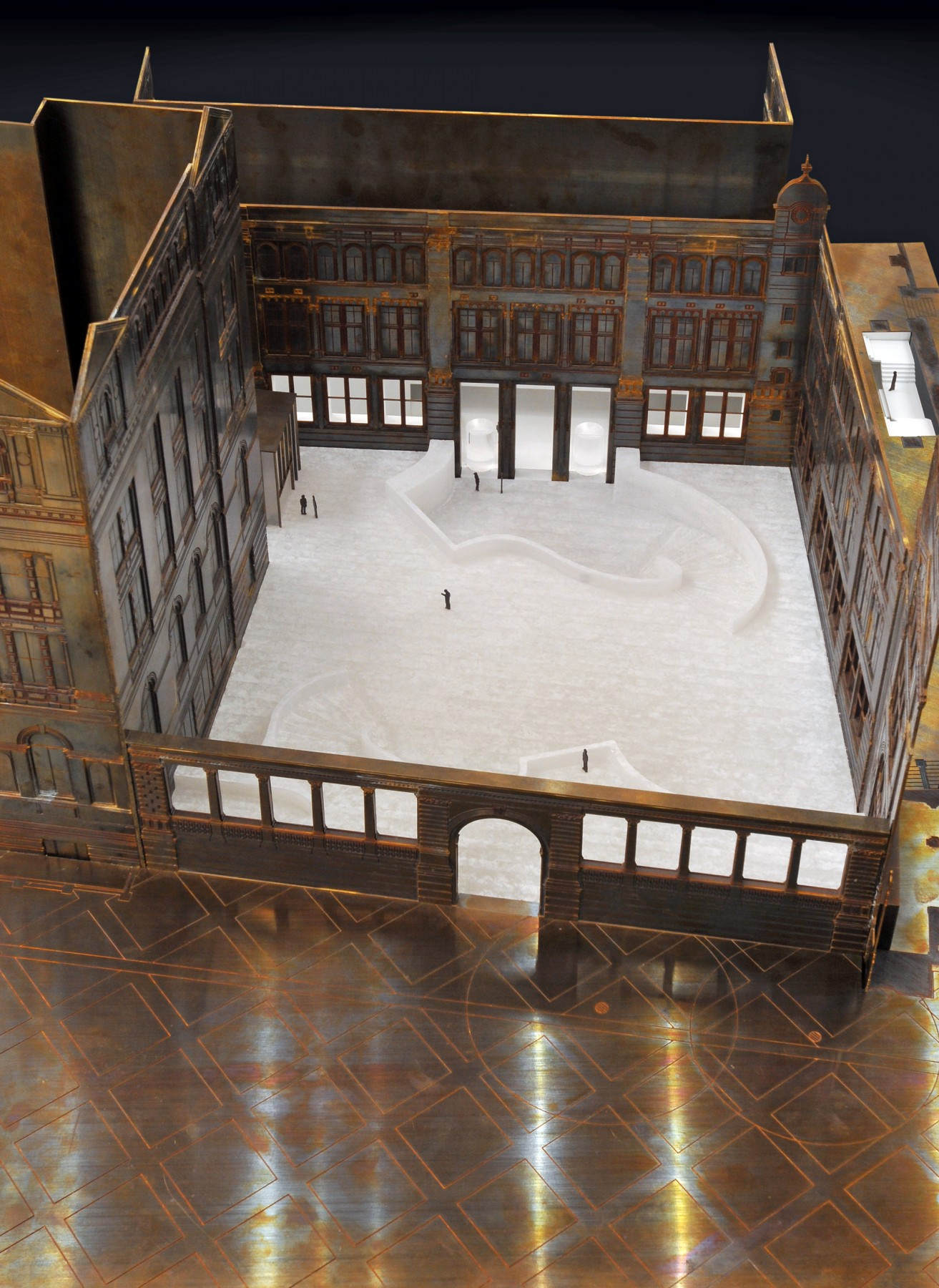 Victoria-and-Albert-Museum-V&A-competition-Exhibition-Road-gallery-London-Sir-Aston-Webb-design-short-list-Jamie-Fobert-architects-model-3
