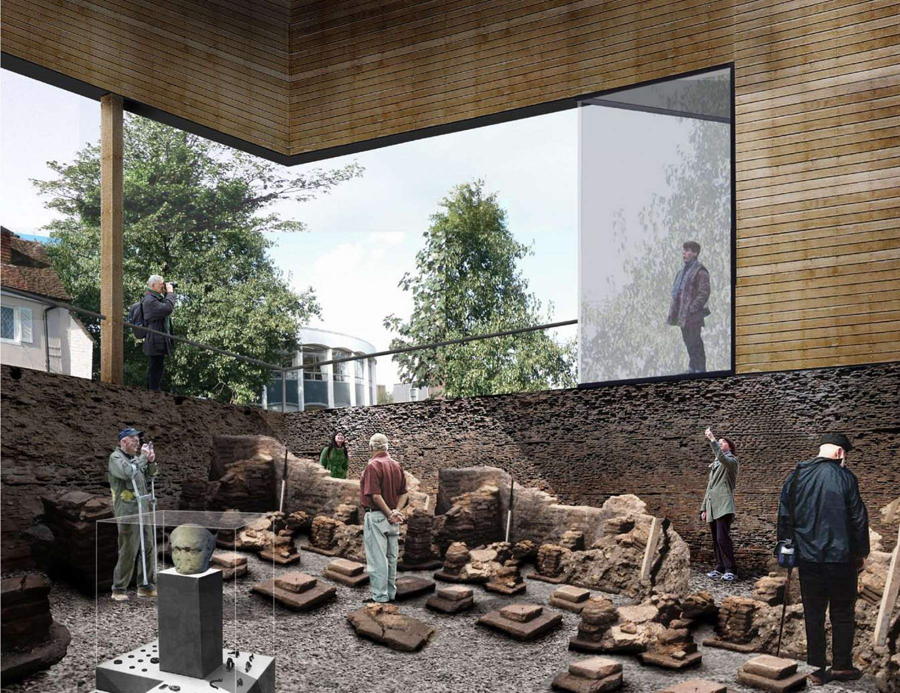 Chichester-district-museum-west-sussex-Roman-baths-competition-RIBA-Short-list-Jamie-Fobert-architects-4