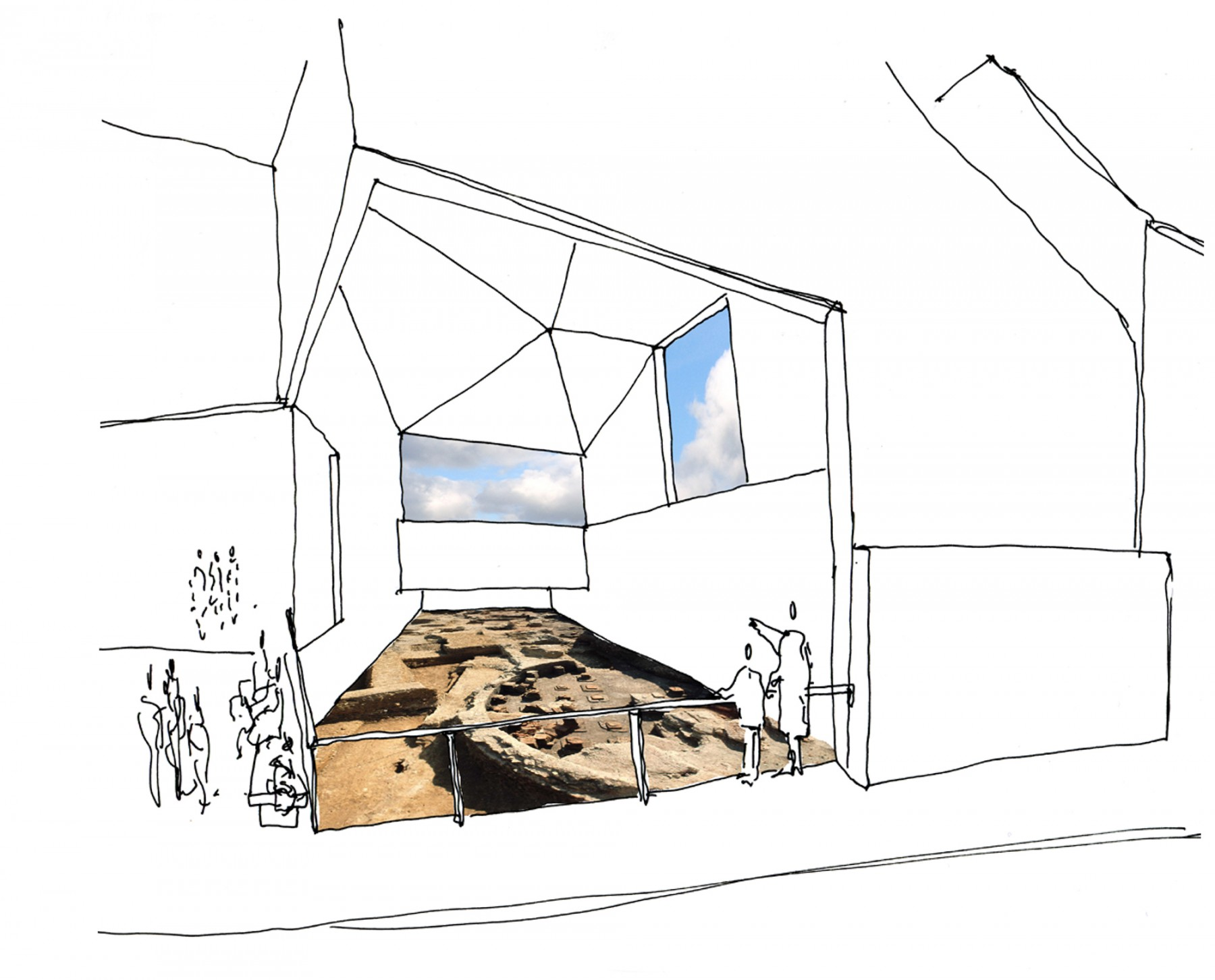 Chichester-district-museum-west-sussex-Roman-baths-competition-RIBA-Short-list-Jamie-Fobert-architects-5