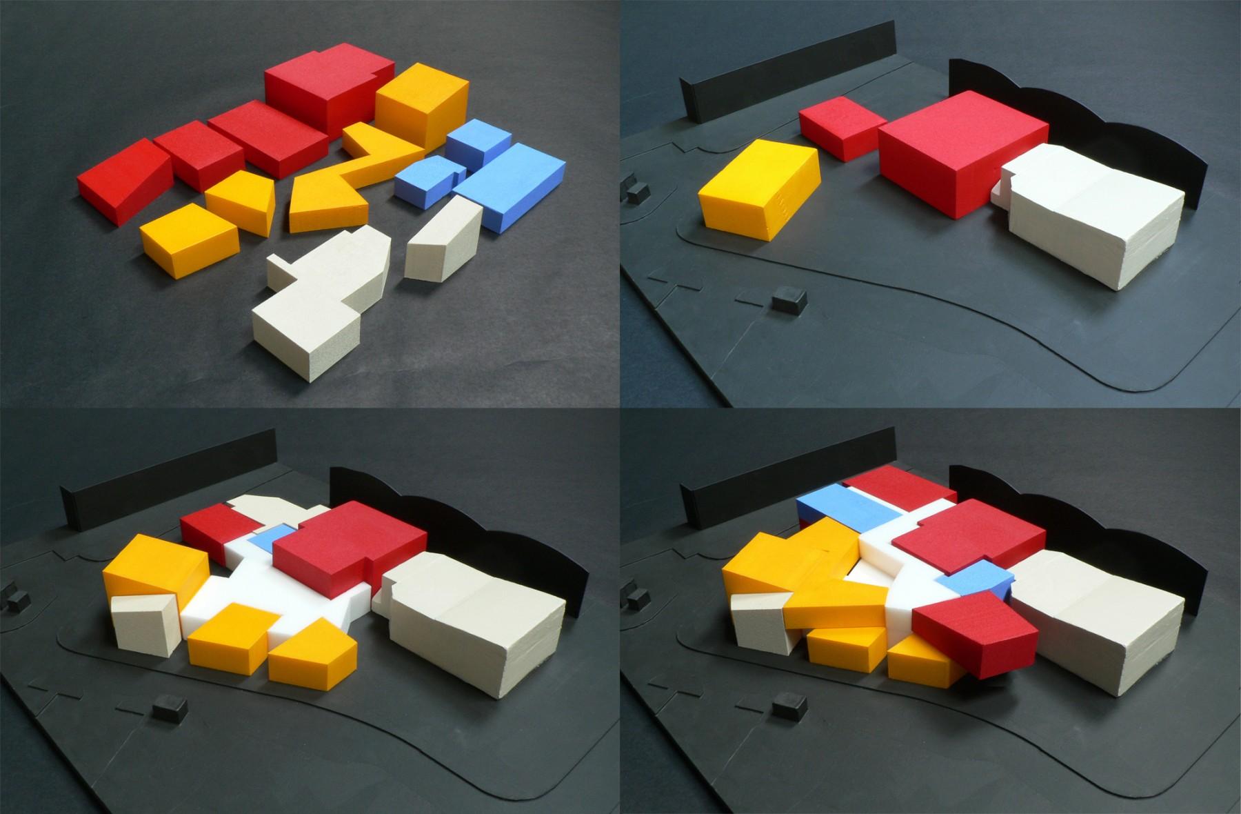 University-Bath-Creative-Arts-Centre-short-list-education-somerset-campus-theatre-Jamie-Fobert-architects-model-blocks