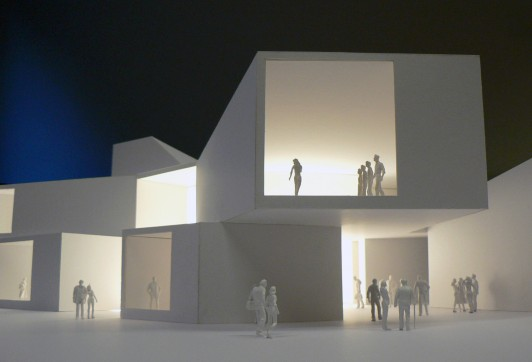 University-Bath-Creative-Arts-Centre-short-list-education-somerset-campus-theatre-Jamie-Fobert-architects-model