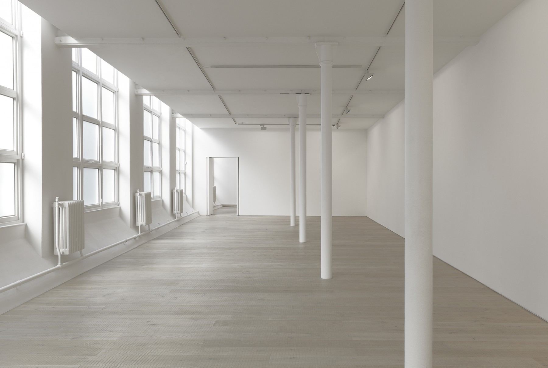 new-Pace-Gallery-London-soho-2011-contemporary-art-international-exhibition-space-installation-Sol-Le-Witt-Wall-Drawing-343-Jamie-Fobert-Architects-3