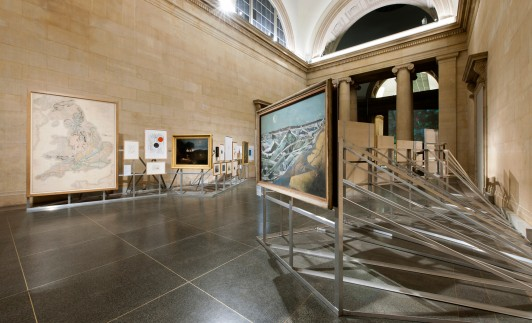 Patrick-Keiller-Tate-Britain-London-design-exhibition-Jamie-Fobert-Architects-Duveen-gallery-Robinson-Institute-2