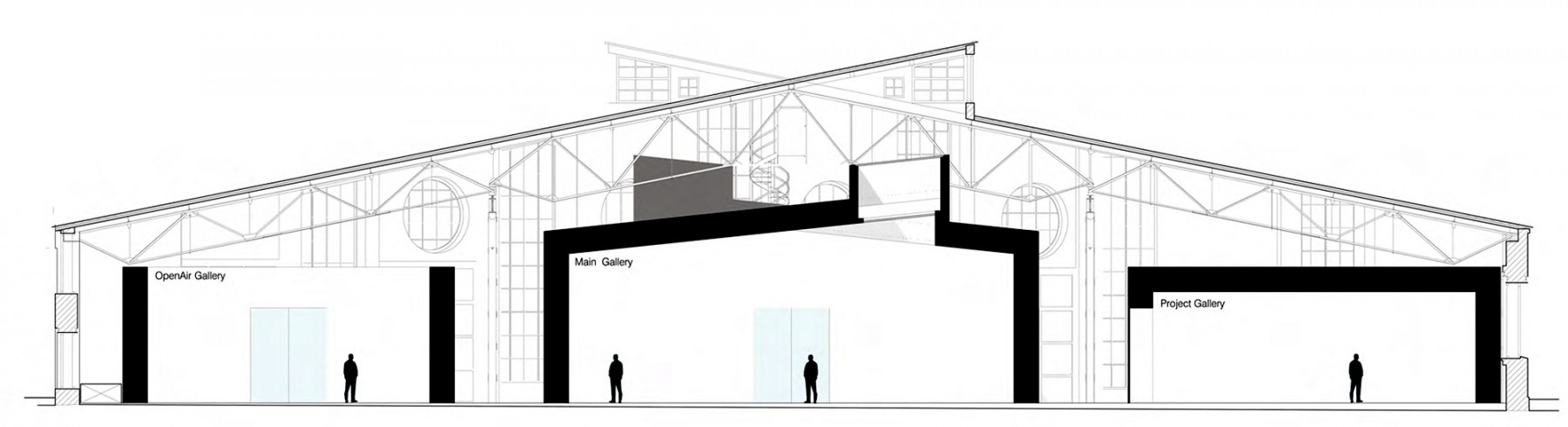 The-Garage-CCC-Moscow-Russia-Art-gallery-centre-contemporary-culture-modern-Daria-Zhukova-Jamie-Fobert-Architects-cross-section