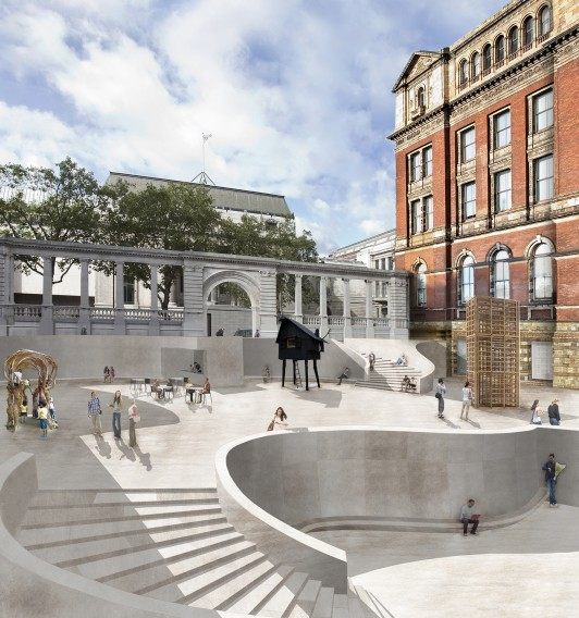 Victoria-and-Albert-Museum-VA-competition-Exhibition-Road-gallery-London-Sir-Aston-Webb-design-short-list-Jamie-Fobert-architects-1