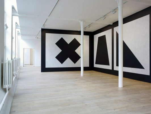 new-Pace-Gallery-London-soho-2011-contemporary-art-international-exhibition-space-installation-Sol-Le-Witt-Wall-Drawing-343-Jamie-Fobert-Architects-1