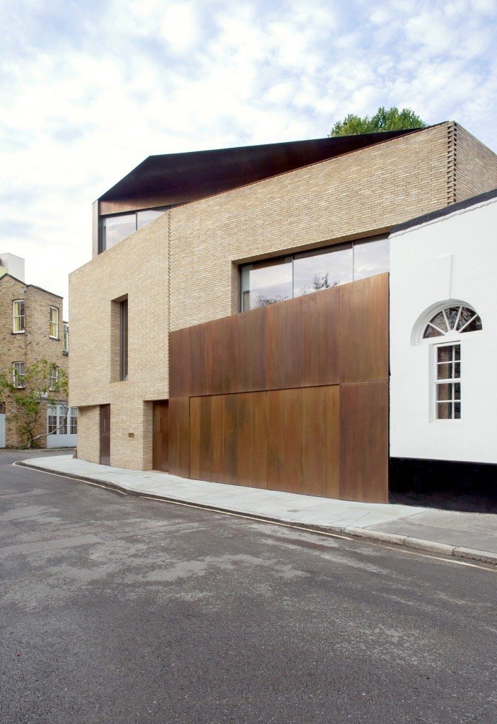 Draper gain house jamie fobert architects for Modern architecture house london