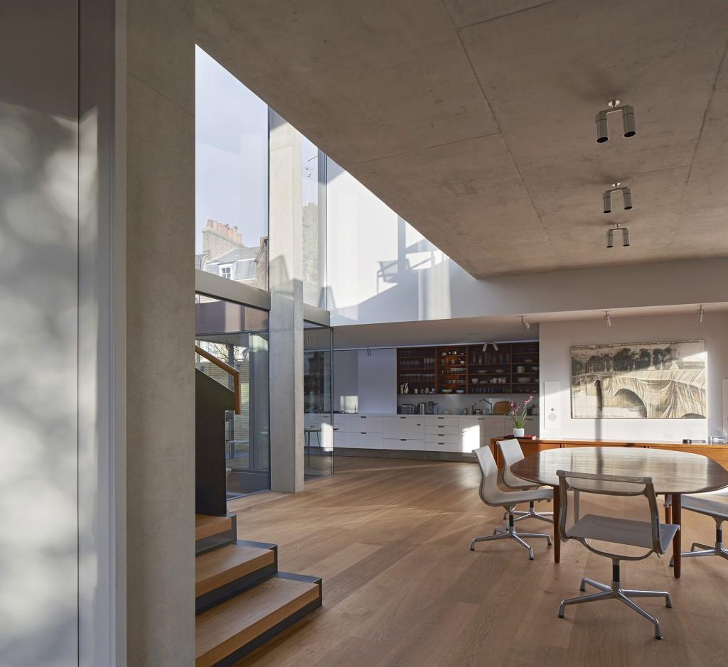 Contemporary London Home: Jamie Fobert Architects