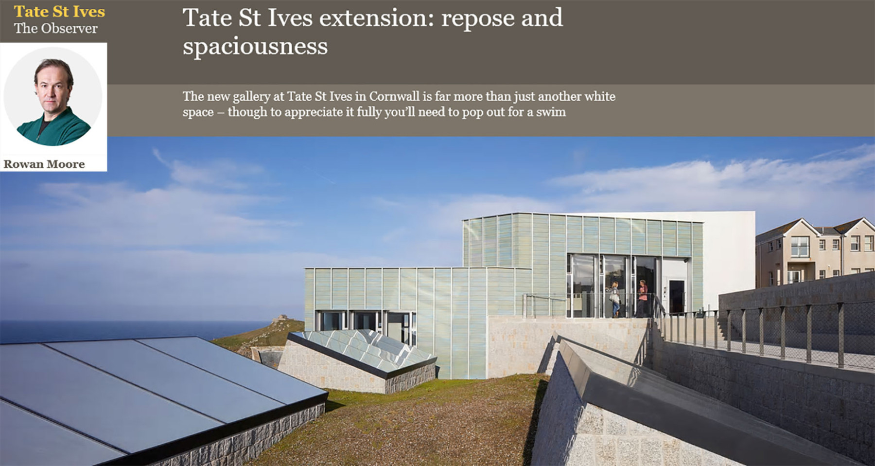 Jamie-Fobert-Architects-Observer-Rowan-Moore-Online-Magazine-Tate-St-Ives-Cultural-Gallery-Modern-Contemporary-News-Project-Press-Article