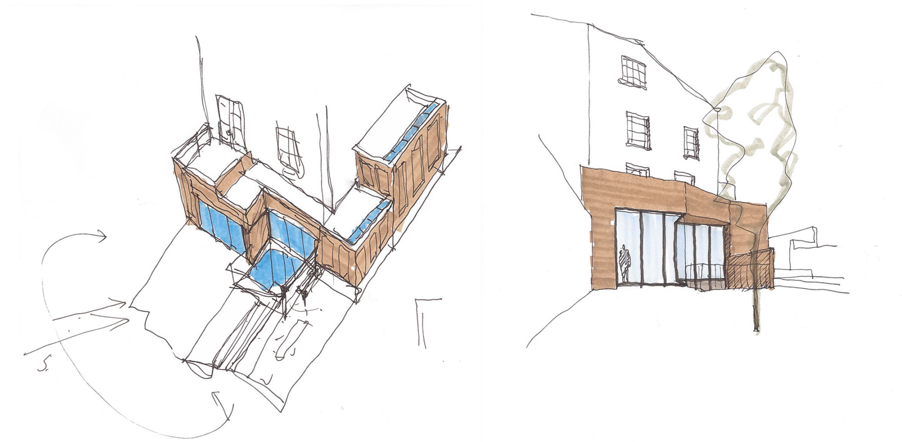 Jamie-fobert-architects-house-in-primrose-hill-exterior-sketches