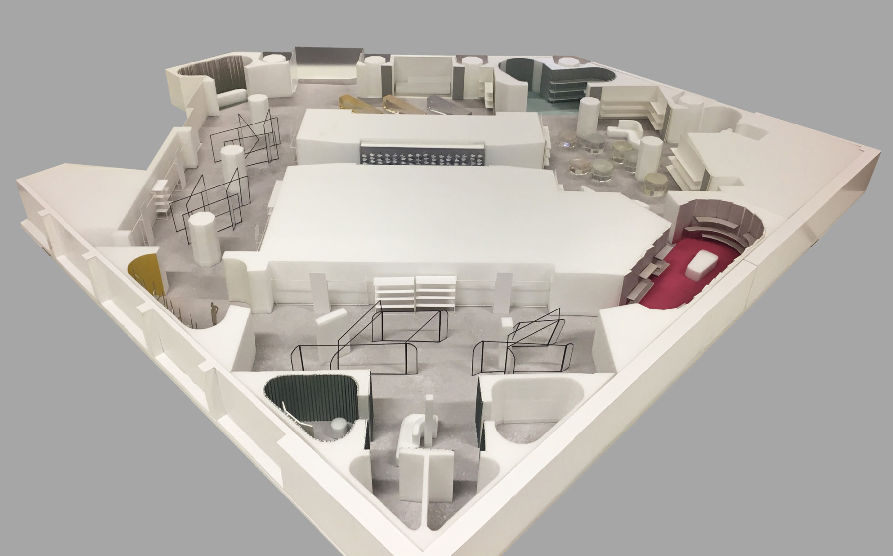 Jamie-fobert-Architects-it-luxury-retail-beautiful-architectural-model-resin-plan