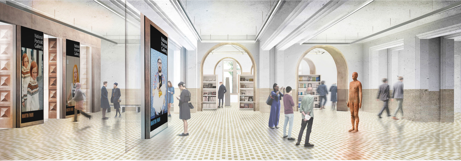 National-portrait-gallery new-entrance-hall-proposal Jamie-Fobert-Architects