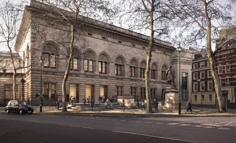 national-portrait-gallery London-forecourt-proposal Jamie-Fobert-Architects Forbes-Massie-homepage