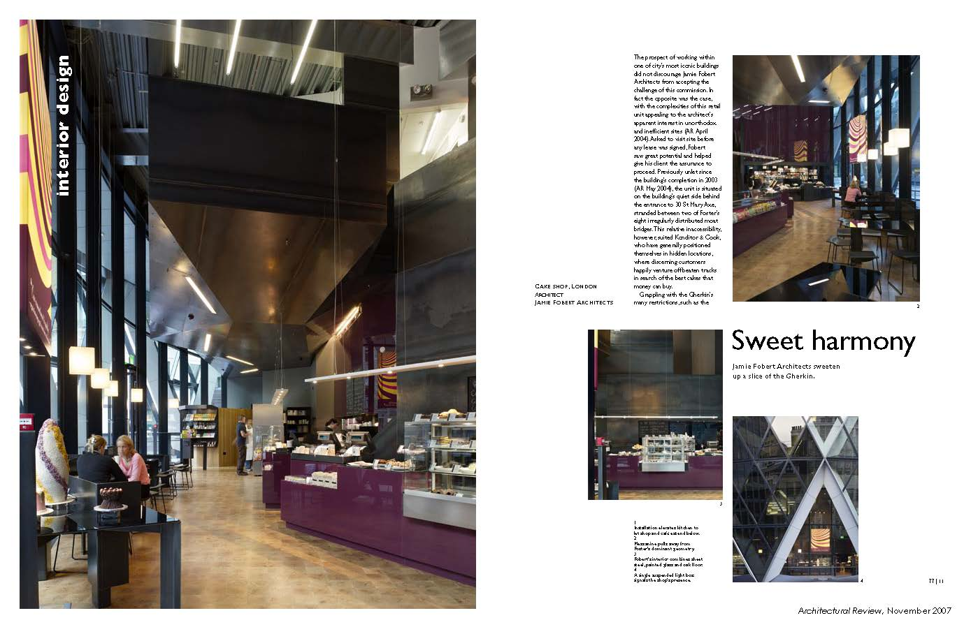 Sweet Harmony, Architectural Review, November 2007 Page 1
