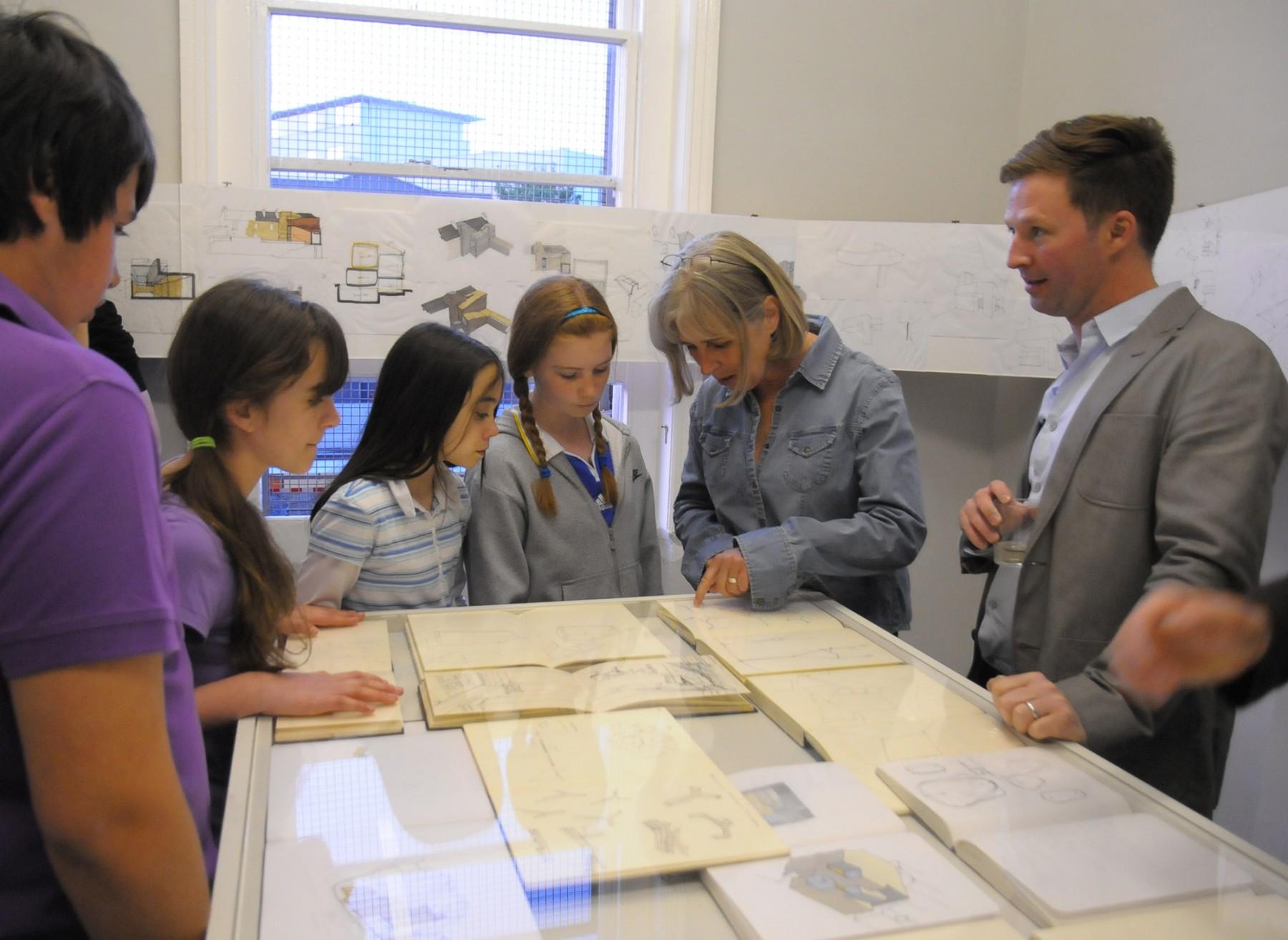 Jamie-Fobert-Architects- C4RD-Exhibition- Architecture-Sketch-Books - children-exhibition