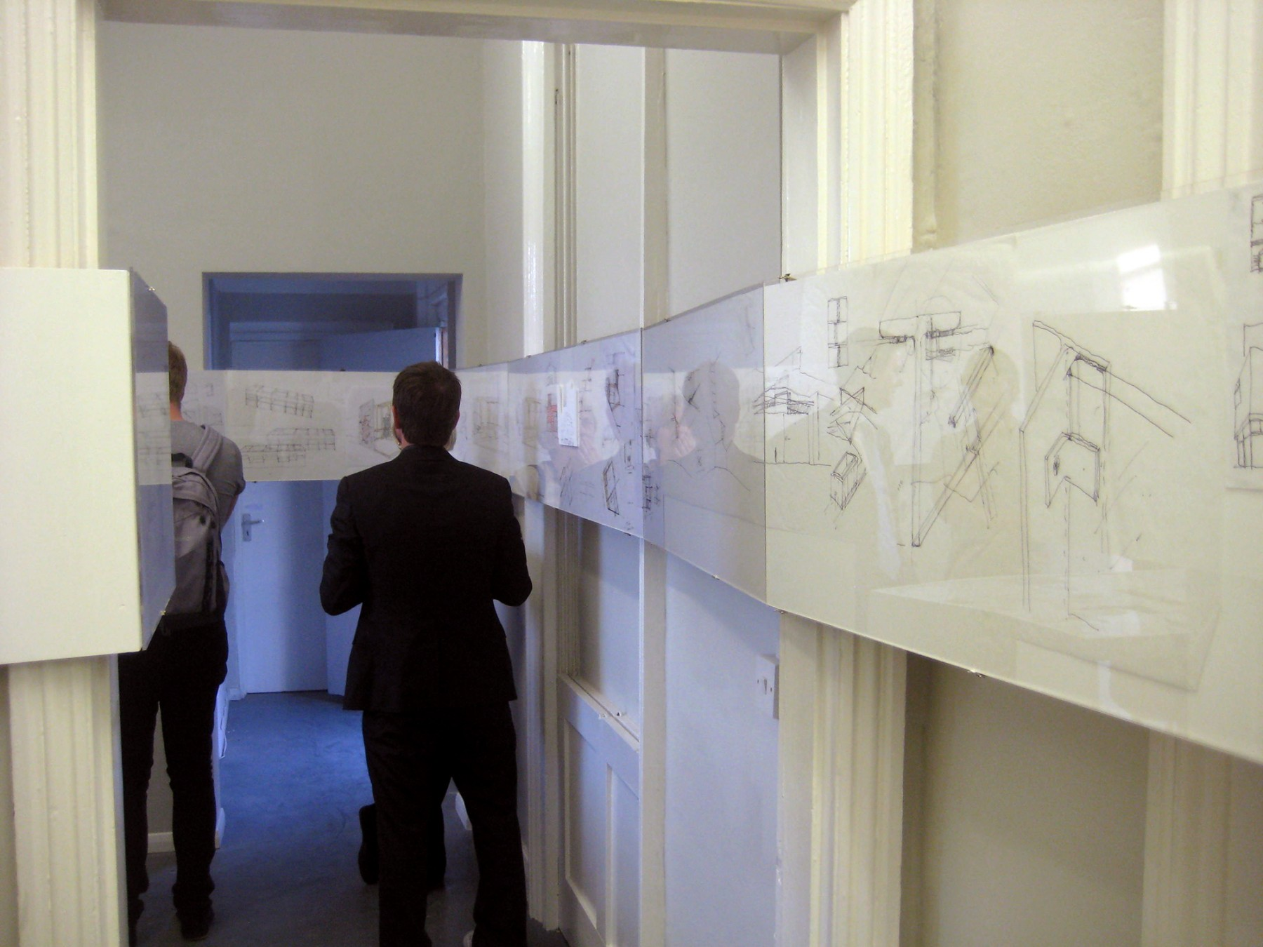 Jamie-Fobert-Architects-C4RD-Exhibition-Architecture-Sketch-Books-sketches-opening 2