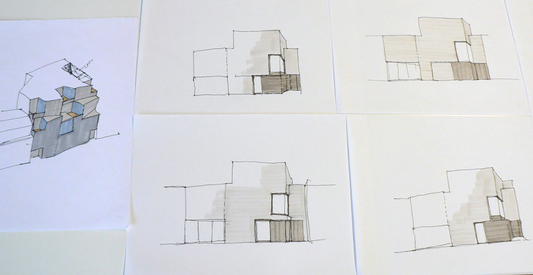 Jamie-Fobert-Architects-C4RD-Exhibition-Architecture-Sketch-Books-sketches-trace