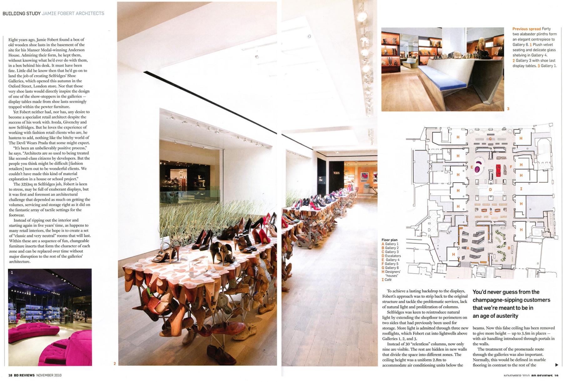 Jamie-Fobert-Architects-Selfridges-Shoes-Article-Press-BD 2