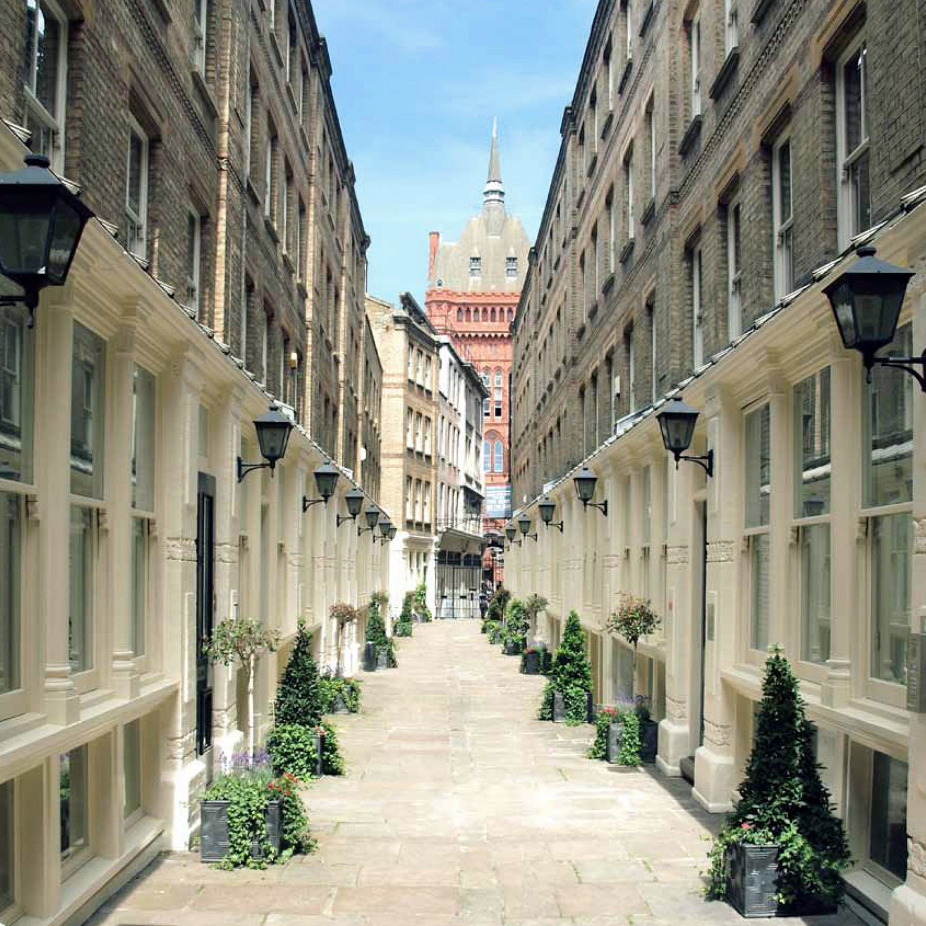 Dyers-Buildings-Private-Gated-Victorian-luxury-apartment-scheme-Residential-Development-Holborn-London-Jamie-Fobert-Architects-view