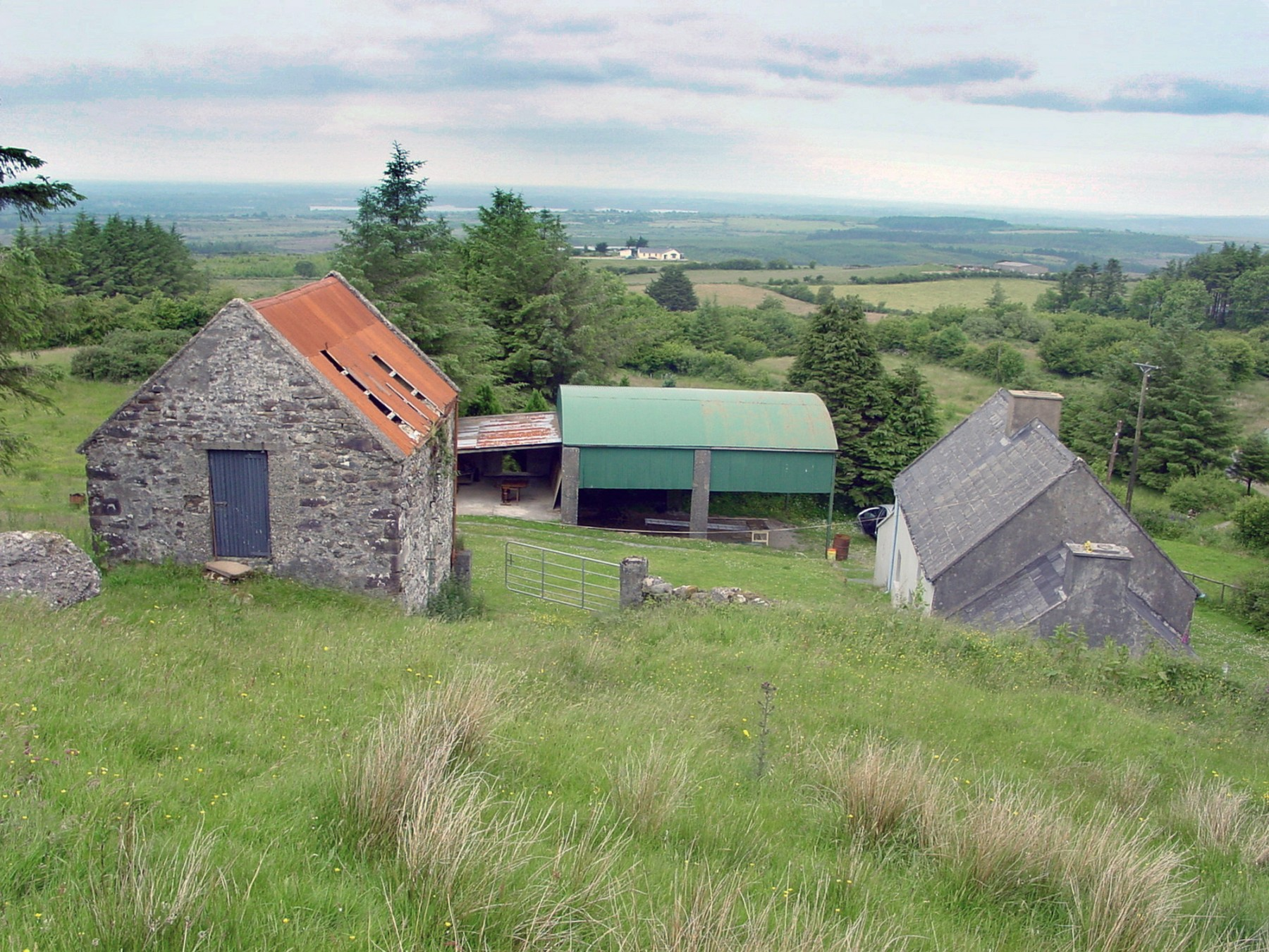 FaHa-Farm-house-barn-County-Clare-Ireland-residential-home-rural-timber-zinc-Jamie-Fobert-Architects-development-site-2