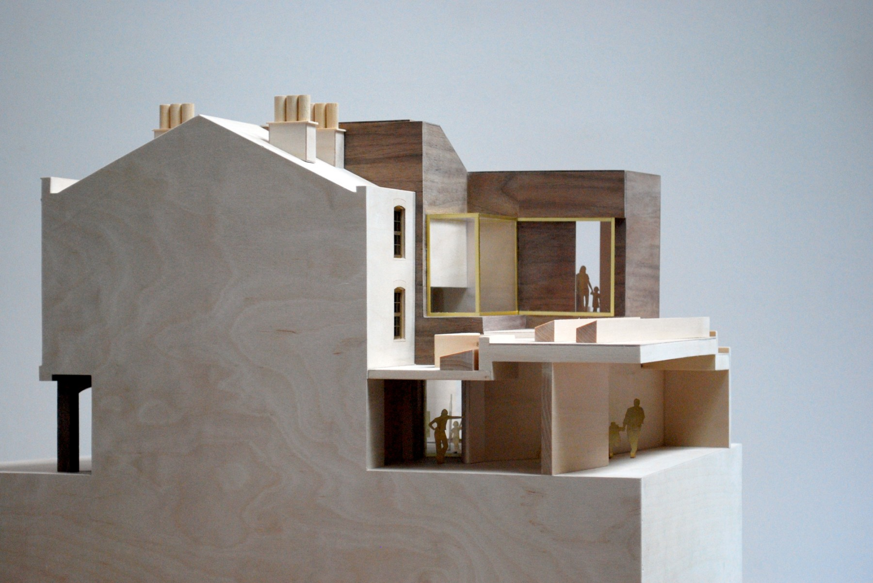 Kettle's-Yard-Cambridge-University-Art-gallery-education-redevelopment-Jim-Ede-Jamie-Fobert-Architects-model