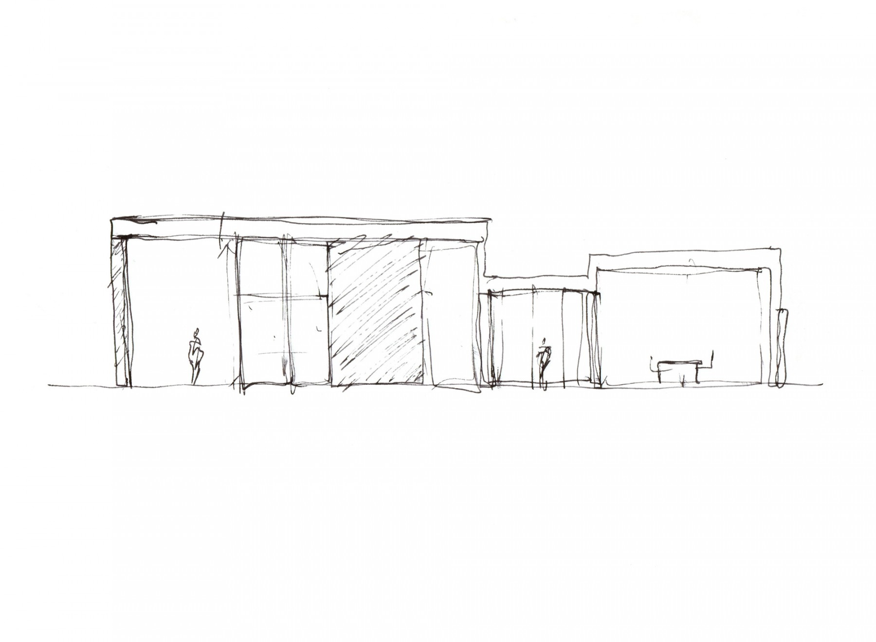 Mouttet-House-contemporary-modern-Trinidad-residential-home-Jamie-Fobert-Architects-sketch-2