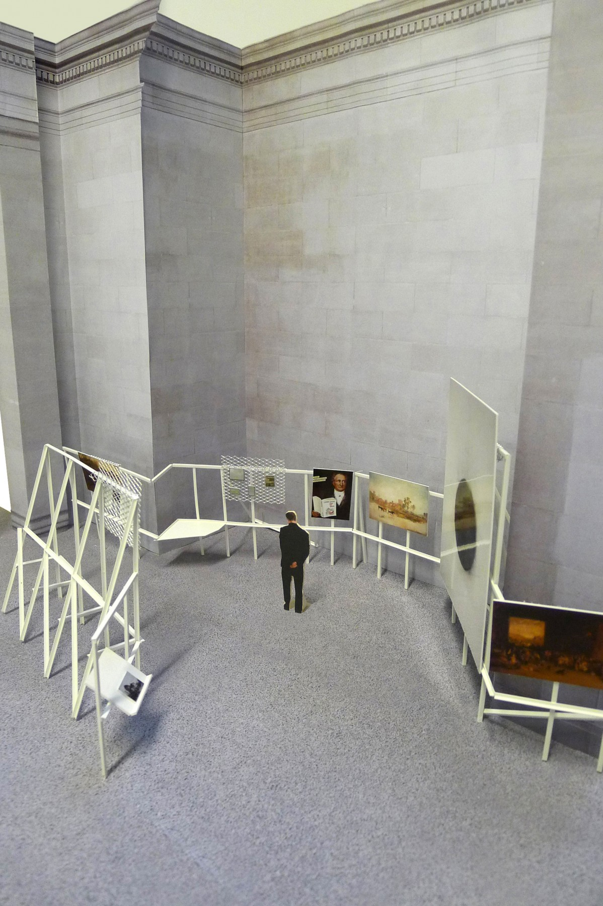 Patrick-Keiller-Tate-Britain-London-design-exhibition-Jamie-Fobert-Architects-Duveen-gallery-Robinson-Institute-model