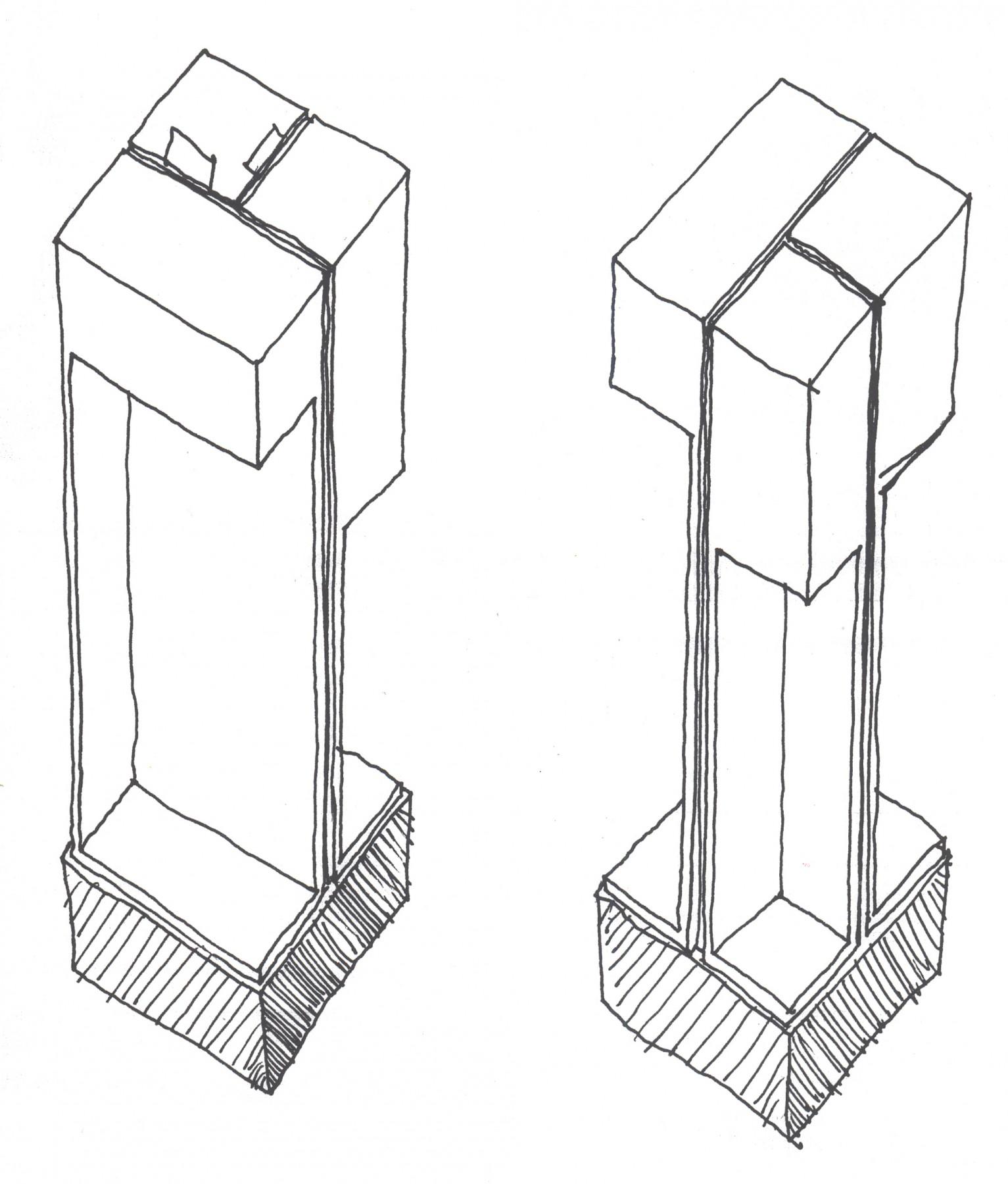Selfridges-London-designer-fashion-retail-Jamie-Fobert-Architects-shoe-galleries-alabaster-plinths-sketches