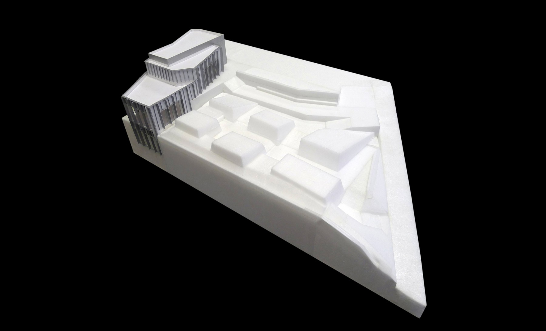Tate-St-Ives-Cornwall-council-new-Extension-competition-Art-gallery-education-Jamie-Fobert-Architects-site-model