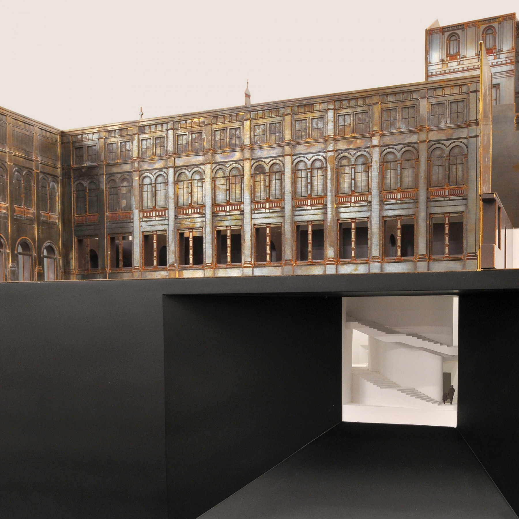 Victoria-and-Albert-Museum-V&A-competition-Exhibition-Road-gallery-London-Sir-Aston-Webb-design-short-list-Jamie-Fobert-architects-model-1