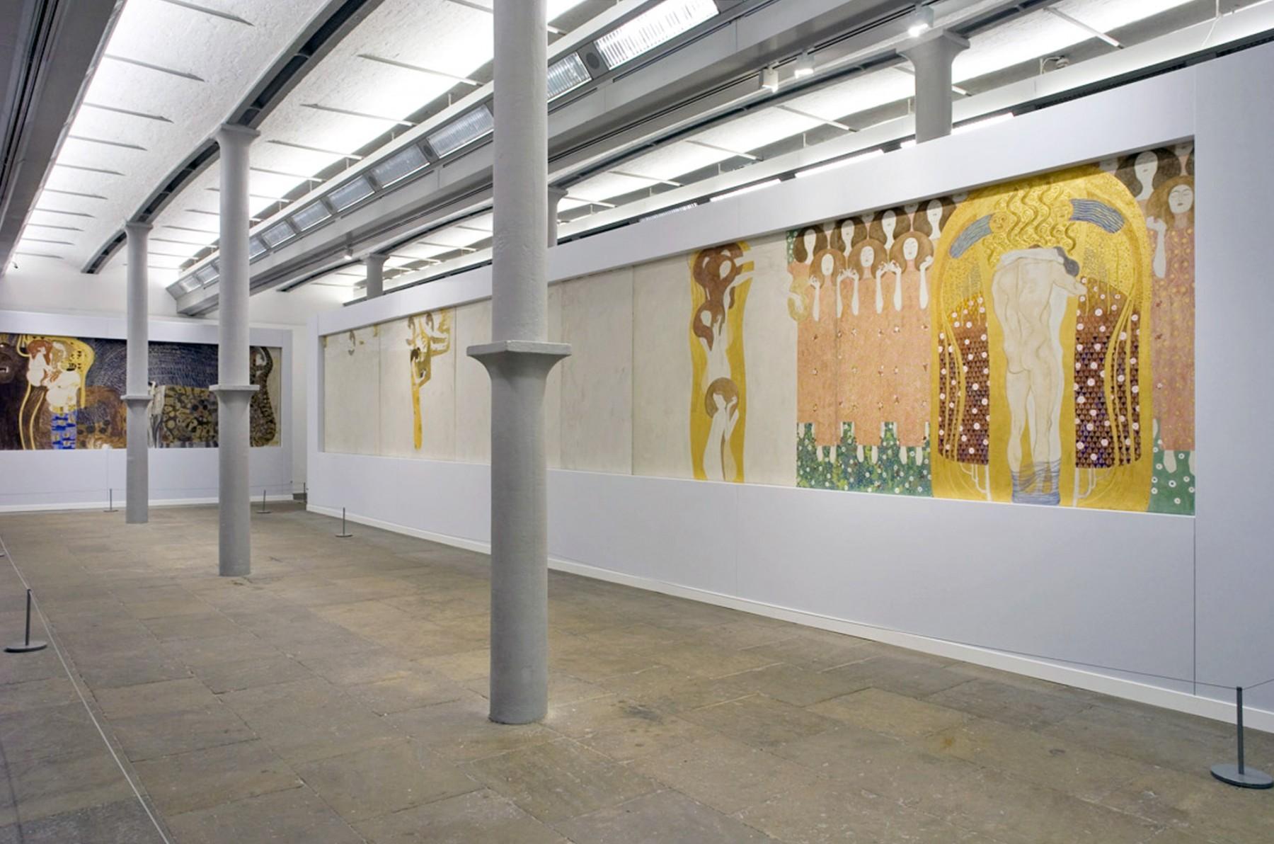 Gustav-Klimt-Painting-Design-Modern-Life-Vienna-Secession-Tate-Liverpool-art-exhibition-gallery-Jamie-Fobert-Architects-4
