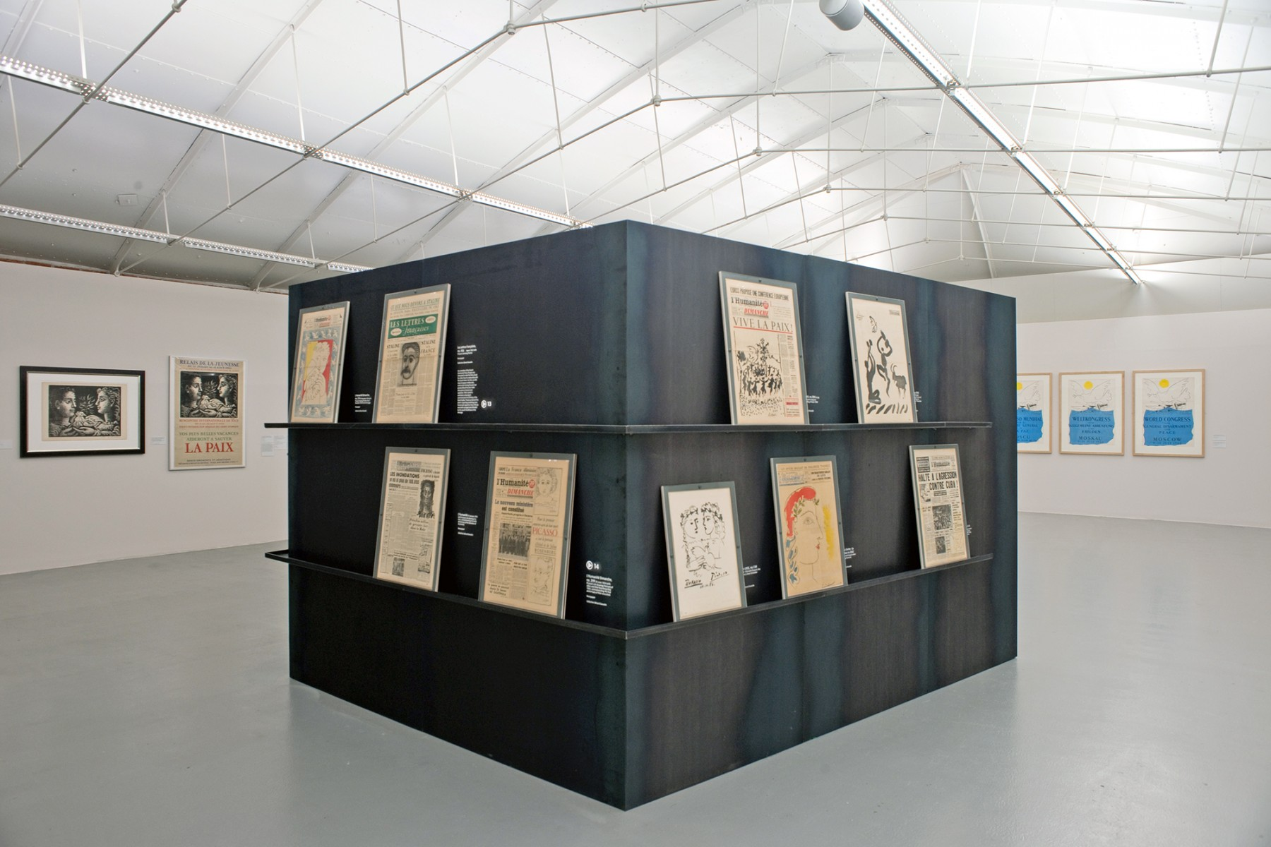 Picasso-Peace-and-Freedom-Tate-Liverpool-design-steel-exhibition-art-Jamie-Fobert-Architects-1