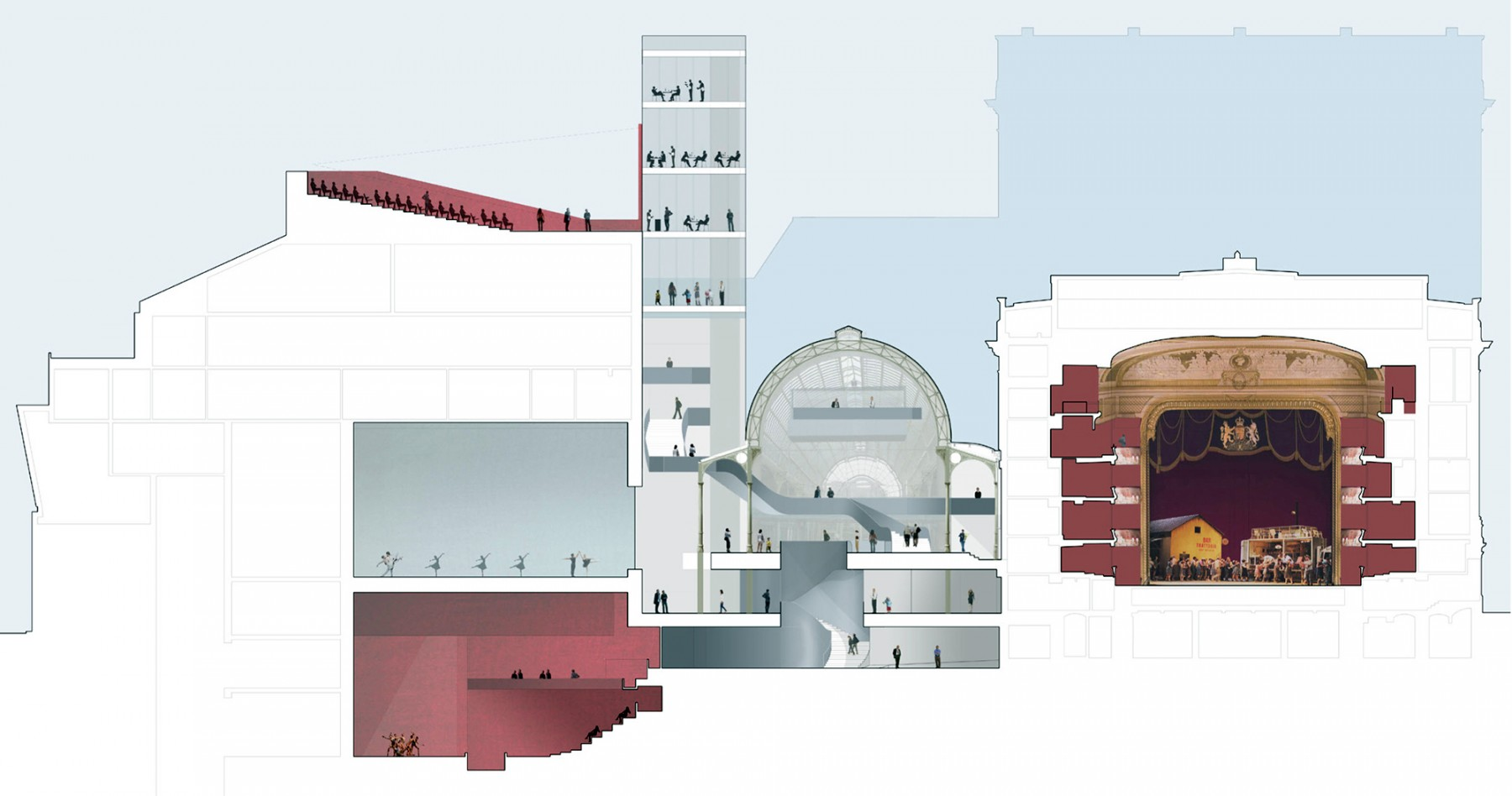 Covent-garden-royal-opera-house-London-Bow-street-competition-performance-space-Floral-Hall-staircase-short-list-Jamie-Fobert-architects-8