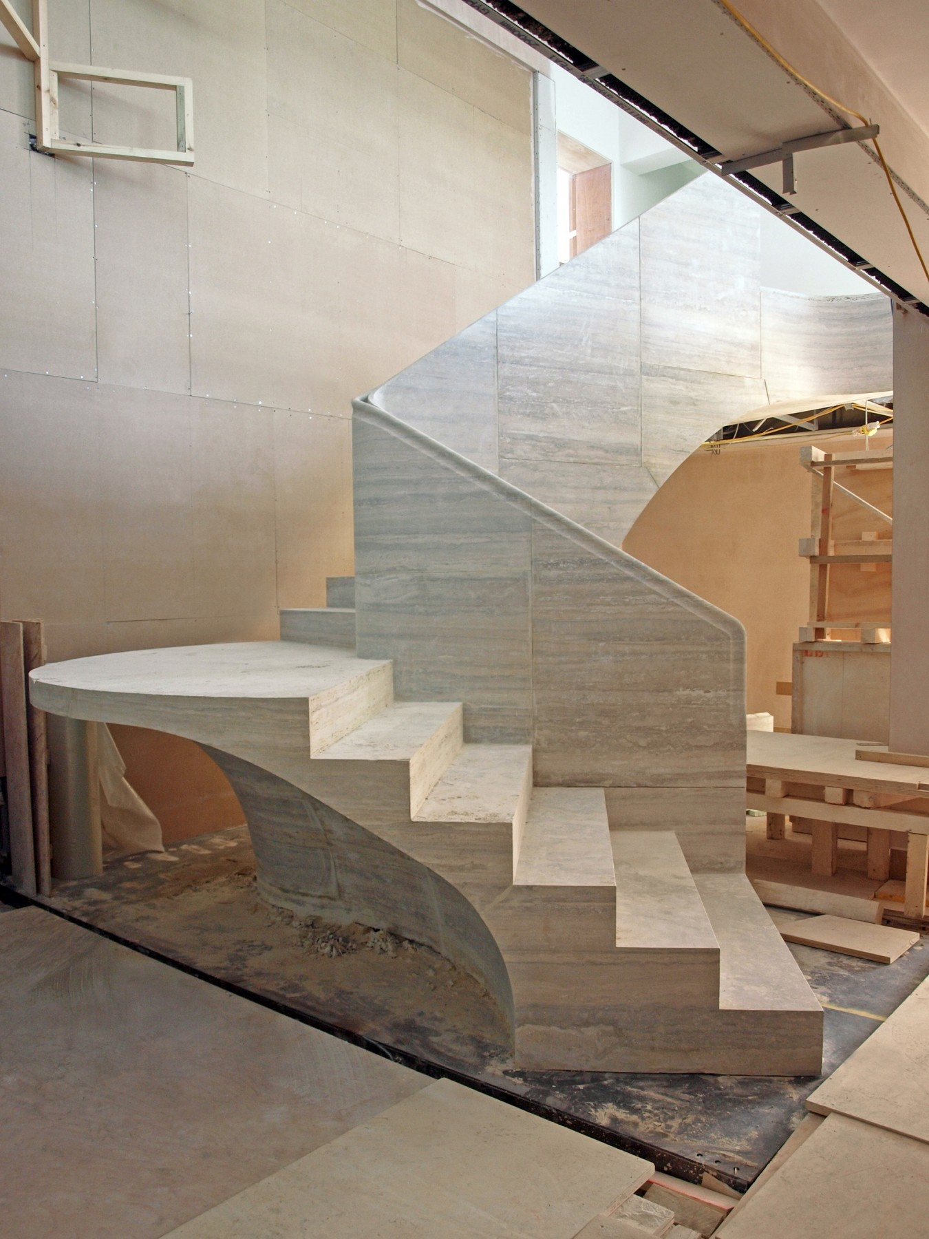 St-James-Place-Park-Denys-Lasdun-Spencer-House-modernist-contemporary-London-residential-home-Jamie-Fobert-Architects-staircase-1