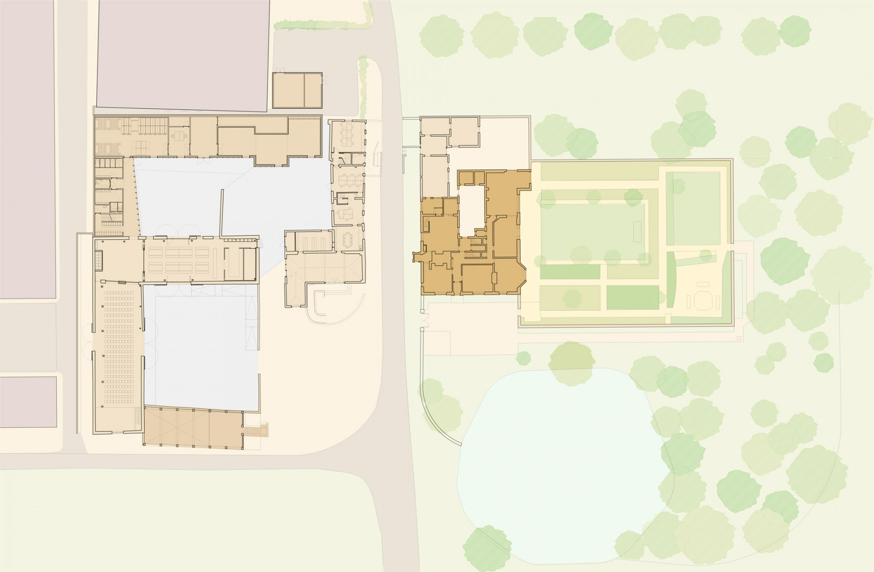 Charleston-farmhouse-bloomsbury-visitor-centre-sussex-museum-gallery-jamie-fobert-site-plan